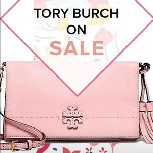 ‼️SALE‼️ 🌸Tory Burch Leather Fold over Crossbody